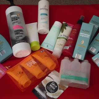 Assorted Hair & Body Items