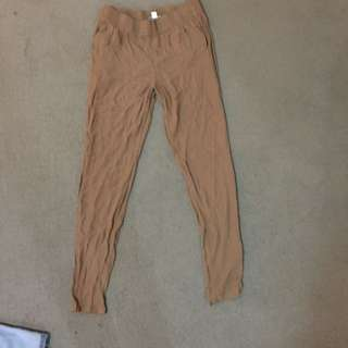 Witchery Brown Pants SIZE S