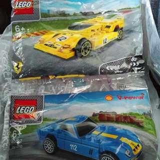 Lego Shell Ferrari