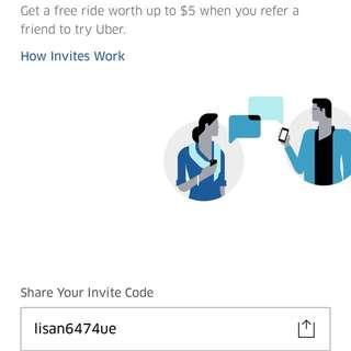 $5 off Uber Code