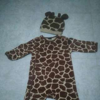 Baju Baby Jerapah Merk GAP