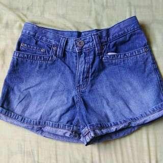 Maong Short Shorts