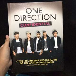 one direction confidential book