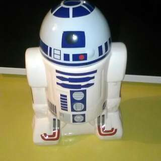 Star Wars R2-D2 Ceramic Cookie Jar