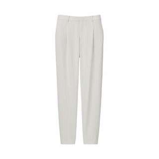 Uniqlo Drape Jogger Pants (striped)
