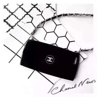 Chanel Black Cover With Long Sling