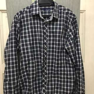 Preloved Zara Checkered Shirt