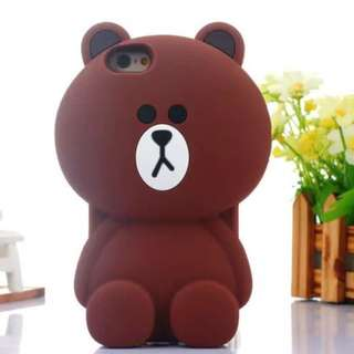 Bear 3D Phone Cover For iPhone