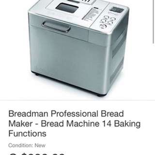Breadman Professional Bread Machine