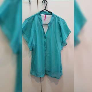 Turquoise Blouse