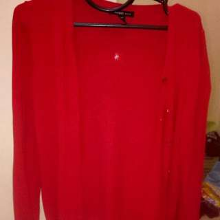 Cardigan Manggo Red