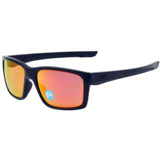 ee6fa03499 Authentic Brand New in Box Oakley 9264-07 Mainlink Matte Black   Ruby  Iridium Polarized