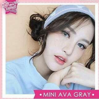Softlens Mini Ava Gray Brown Blue