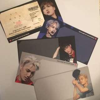 Ticket Holder By Ninibox (Kai fansite)