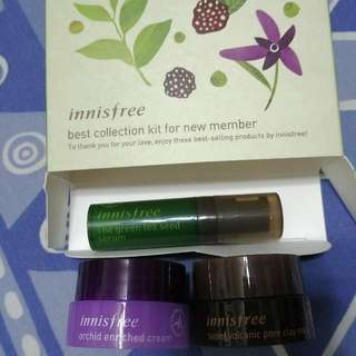 Innisfree Serum, Clay Mask, Cream