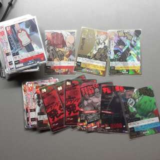 One Punch Man Trading Card Games