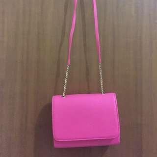 Tas Pink Model H&M (TURUN HARGA!)