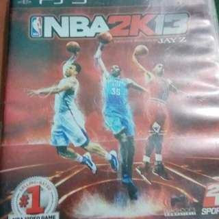 NBA 2K13 - PS3 Game