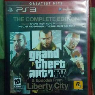 Grand Theft Auto IV 4 Complete Edition - PS3 Game