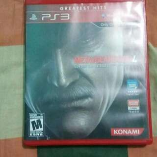 Metal Gear Solid IV Gun Of The Patriots - PS3 Game