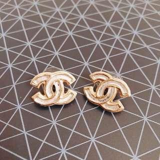 Chanel Large CC Studs