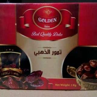 Kurma Golden Best Quality Dates / Kurma Golden Khalas