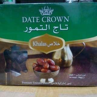 Kurma Dates Crown Khalas