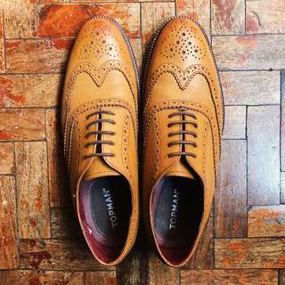 Topman Leather Oxfords