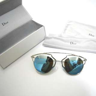 Christian Dior So Real Blue/Silver/White Sunglasses 太陽鏡