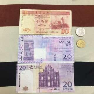澳門幣50元