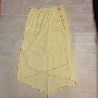 Longback Skirt Cover Up