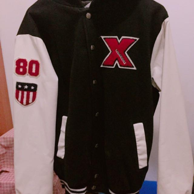 棒球外套 M