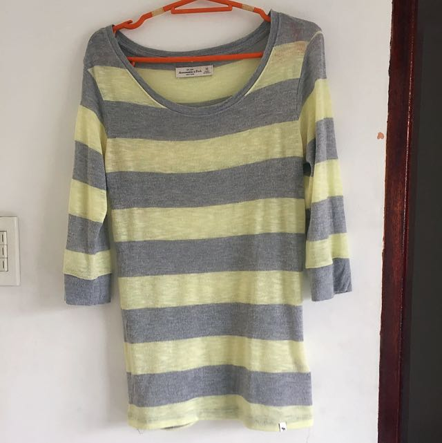 Abercrombie & Fitch Stripe Blouse