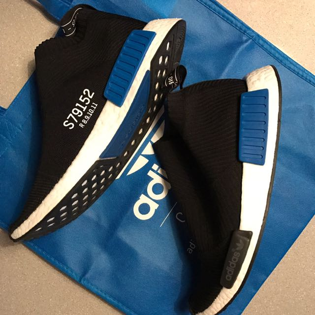 Adidas NMD CS 1 PK Black Blue