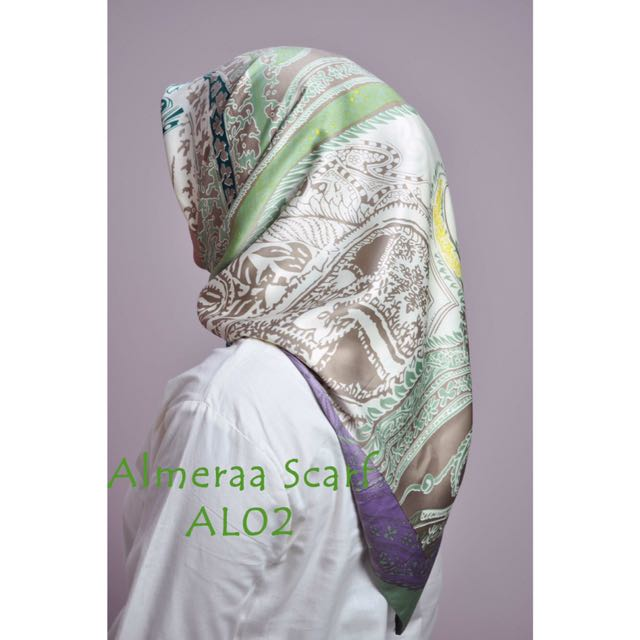 Almeraa Scarf AL-02 (swipe for more details)