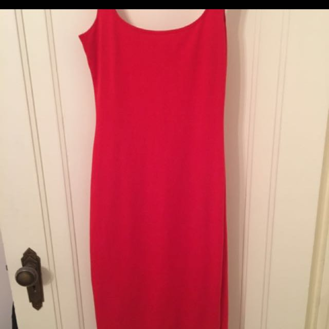 American Apparel Red Dress