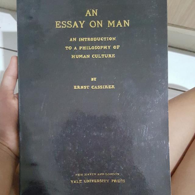 An ESSAY on MAN - Philosophy