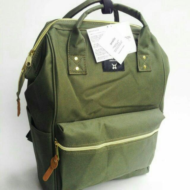 Anello Bag Green - Size Big