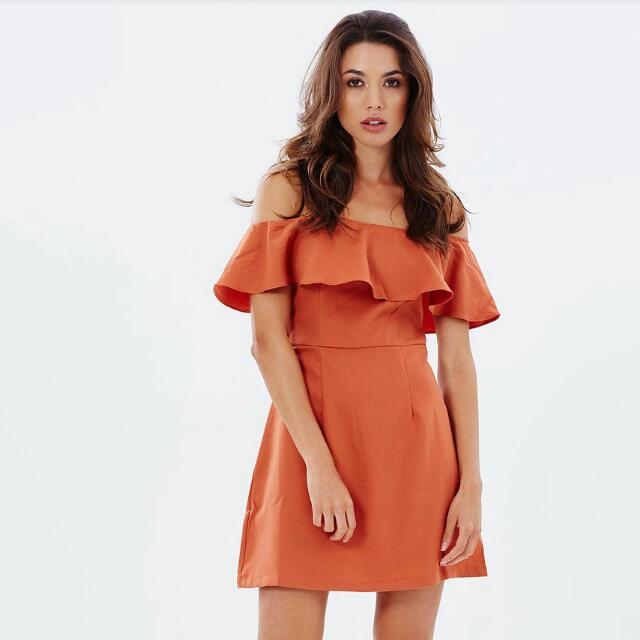 Atmos&Here Dreamer Off Shoulder Dress BNWT Size 8 RRP $59.95