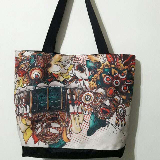 Authentic Freeway Tote Bag