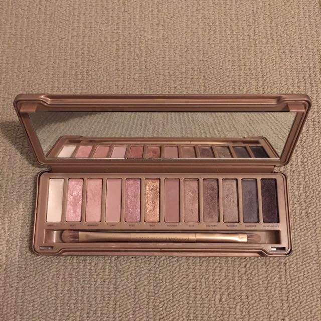 Authentic Naked 3 Eyeshadow Palette