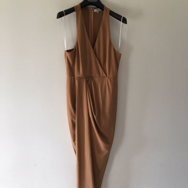 AVA Nude Cocktail Dress