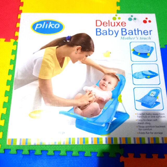Baby Bather Merk Pliko ....Ngebantu Bunda Memandikan Bayi....