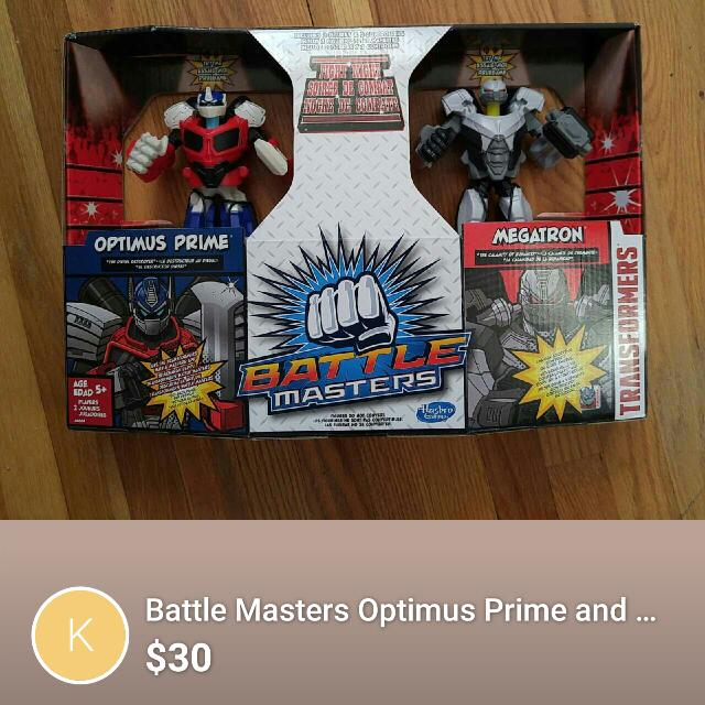 Battle Masters Toy