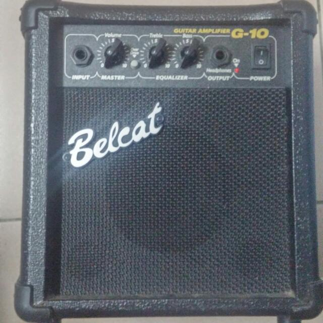 Belcat Amplifier