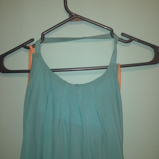 Blue Lululemon Workout Top