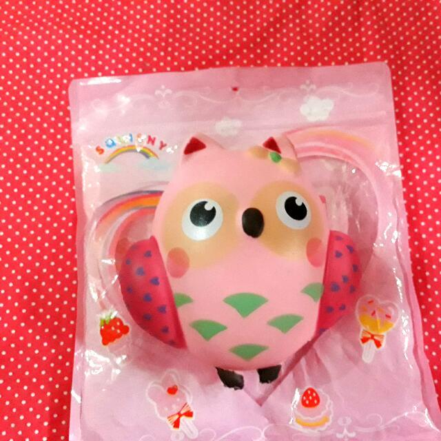 Boo Owl Squishy