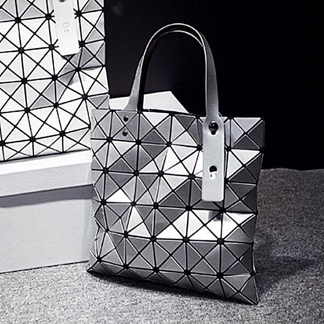 e20eeea1999a Brand New Issey Miyake Bao Bao Bag- Silver
