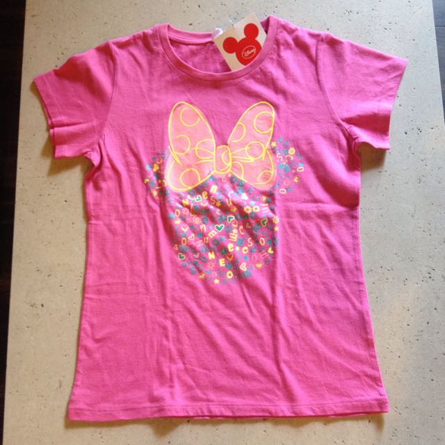 Brand New UT Minnie Mouse Shirt For Girls