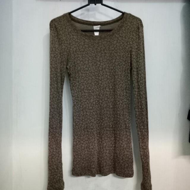 Brown Long Tshirt Brand Ada Fashion
